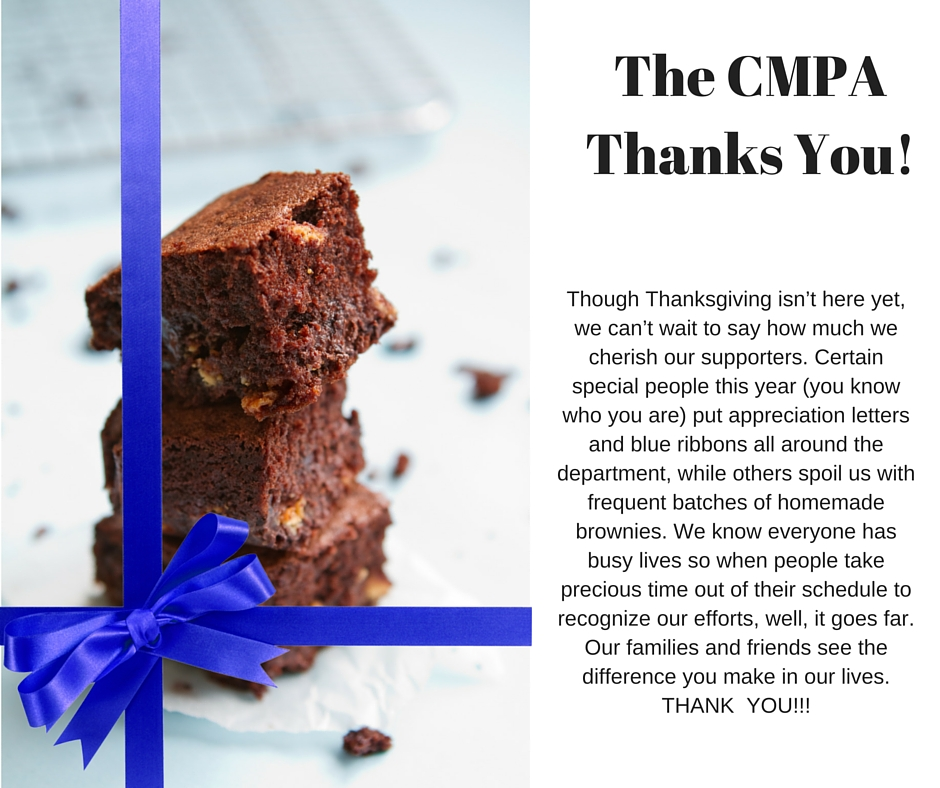 CMPA Happy Thanksgiving