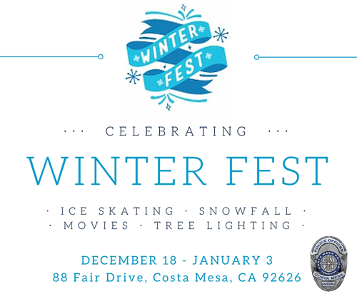 Costa Mesa PA Winter Fest